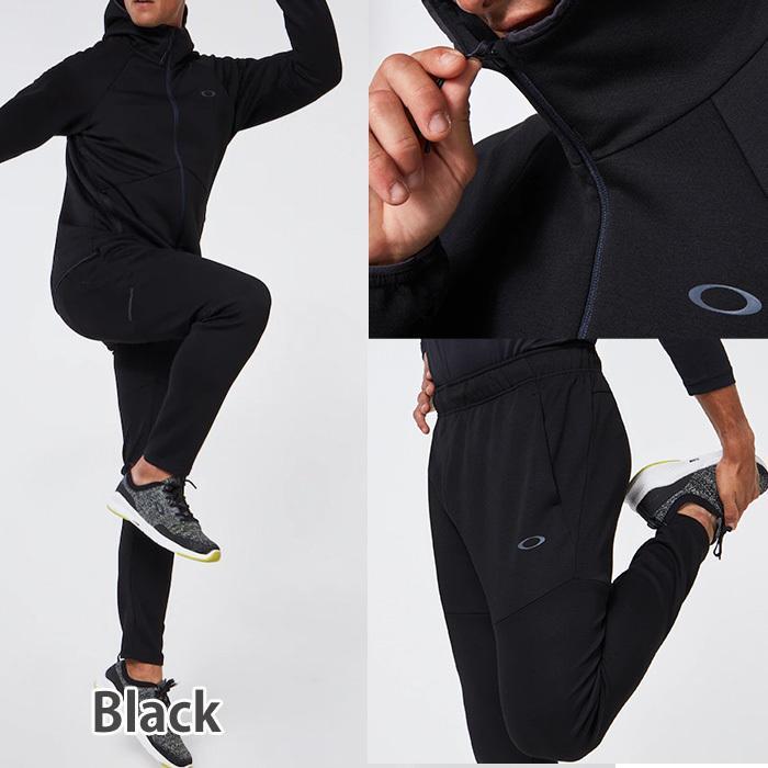 オークリー セットアップ トレーニングウエアー スウェット ジャージ  速乾 反射材 UPF50+ OAKLEY Enhance Dual Fleece Jacket/Pants 1.7 XL XXL oa369|5445|02