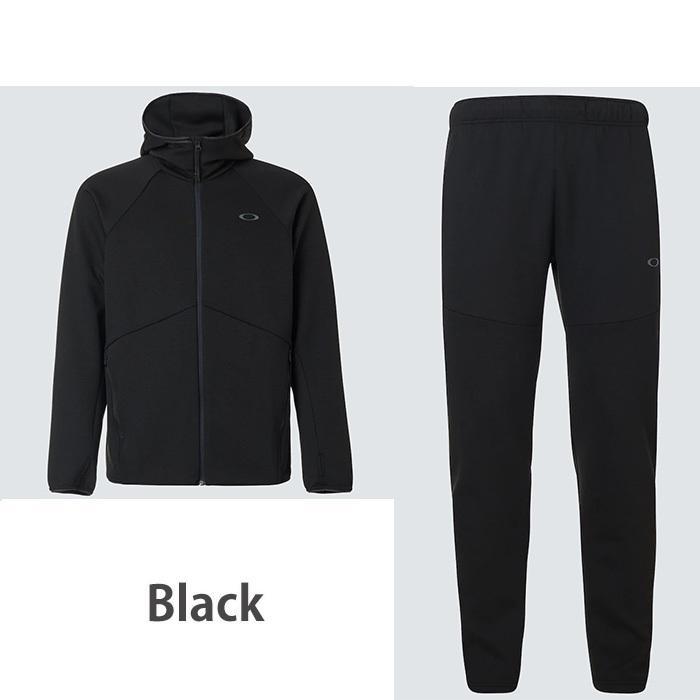 オークリー セットアップ トレーニングウエアー スウェット ジャージ  速乾 反射材 UPF50+ OAKLEY Enhance Dual Fleece Jacket/Pants 1.7 XL XXL oa369|5445|03