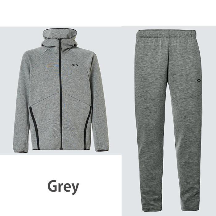 オークリー セットアップ トレーニングウエアー スウェット ジャージ  速乾 反射材 UPF50+ OAKLEY Enhance Dual Fleece Jacket/Pants 1.7 XL XXL oa369|5445|05