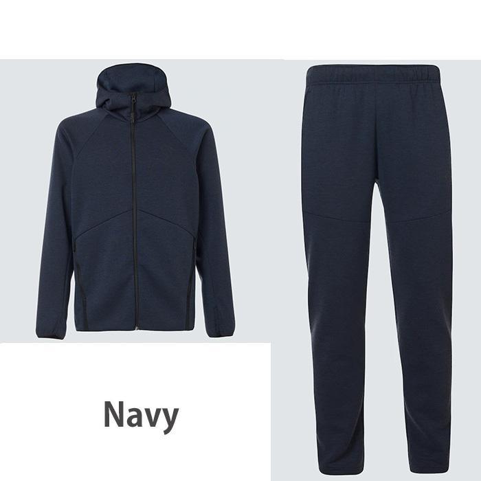オークリー セットアップ トレーニングウエアー スウェット ジャージ  速乾 反射材 UPF50+ OAKLEY Enhance Dual Fleece Jacket/Pants 1.7 XL XXL oa369|5445|07