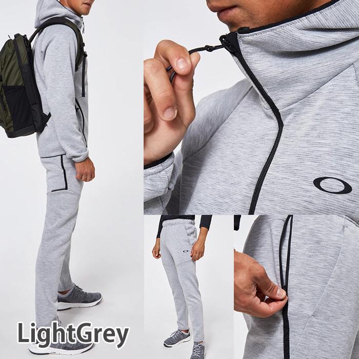 オークリー セットアップ トレーニングウエアー スウェット ジャージ  速乾 反射材 UPF50+ OAKLEY Enhance Dual Fleece Jacket/Pants 1.7 XL XXL oa369|5445|08