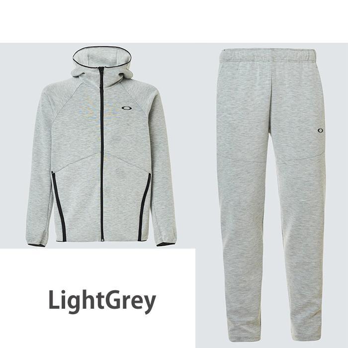 オークリー セットアップ トレーニングウエアー スウェット ジャージ  速乾 反射材 UPF50+ OAKLEY Enhance Dual Fleece Jacket/Pants 1.7 XL XXL oa369|5445|09