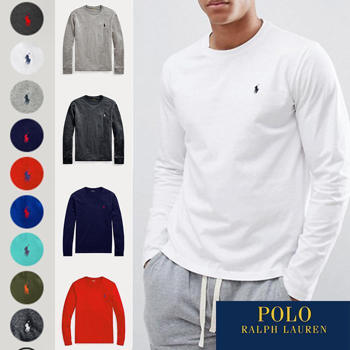 Polo Ralph Lauren ポロラルフローレン メンズ ロングTシャツ ロンT r499|5445