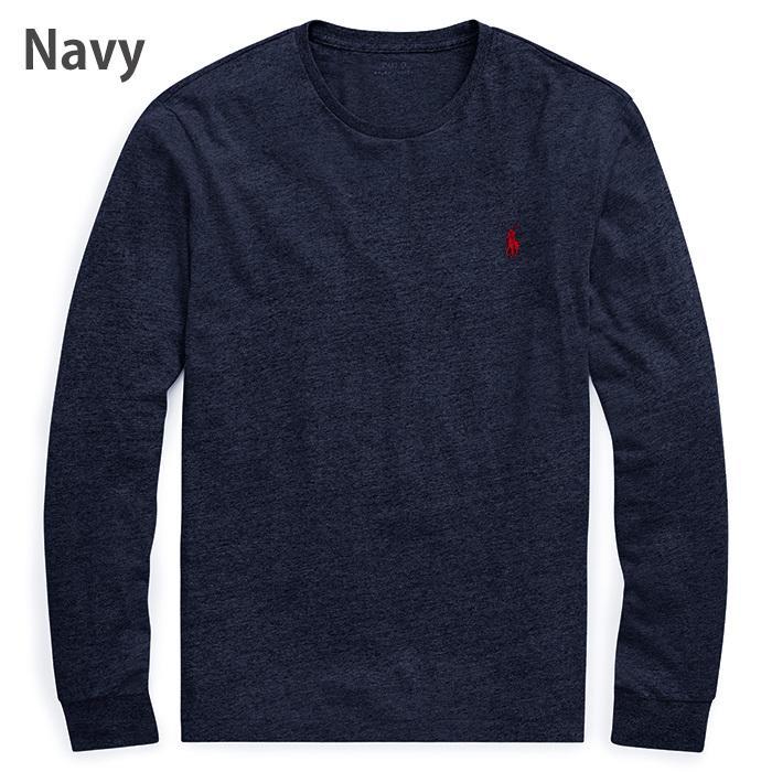 Polo Ralph Lauren ポロラルフローレン メンズ ロングTシャツ ロンT r499|5445|09