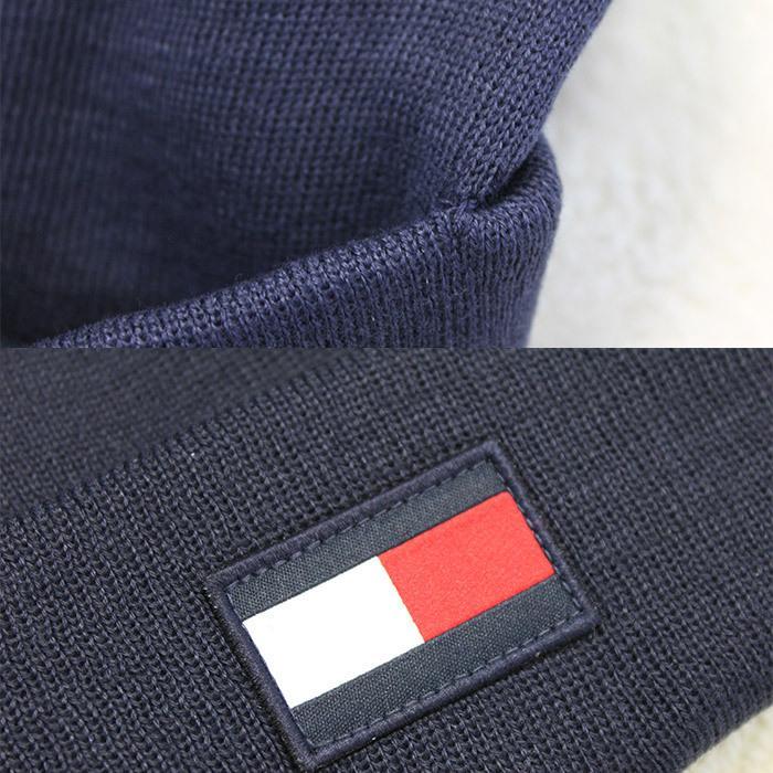 TOMMY HILFIGER トミー ニット帽 ユニセックス メンズ レディース ブランド t572 ネイビー グレー レッド|5445|02