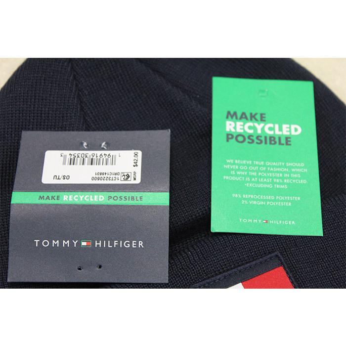 TOMMY HILFIGER トミー ニット帽 ユニセックス メンズ レディース ブランド t572 ネイビー グレー レッド|5445|03