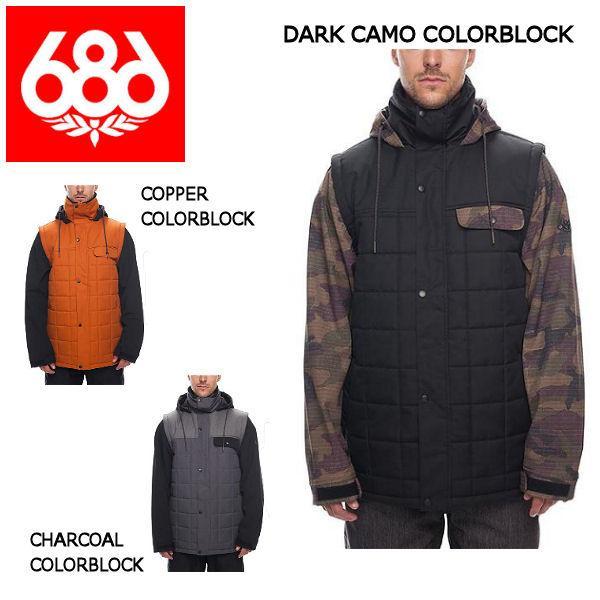 686 シックスエイトシックス Bedwin Snow Insulated Jacket メンズ スノージャケット スノーウェア スノーボードウエア アウター