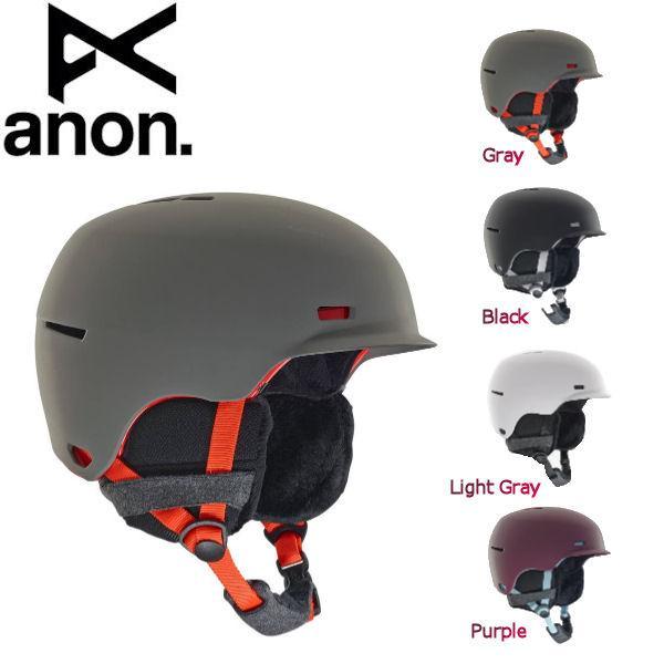 アノン ANON レディース ヘルメット プロテクター スノーボード S・M・L 4カラー Anon Raven Helmet