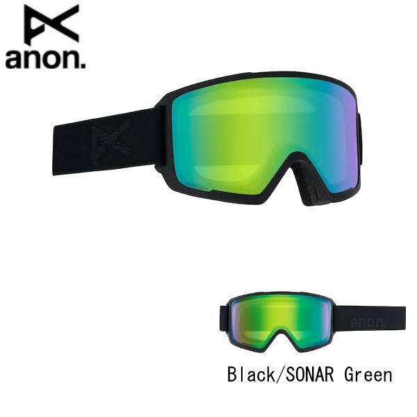 セール特価 アノン MEN'S ANON M3 SNAPBACK GOGGLE + SPARE LENS メンズ スノーゴーグル スキー スノーボード ゴーグルバッグ付属, エイチョウ ce29eb64