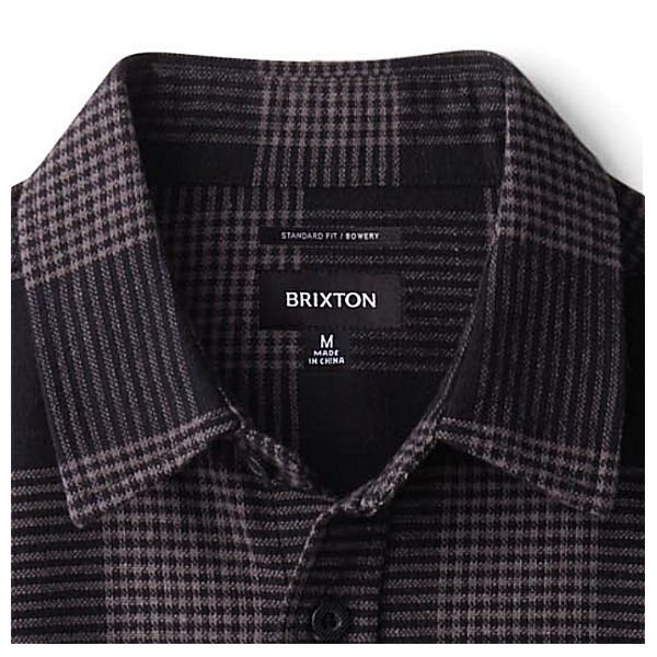 ブリクストン BRIXTON 2020秋 BOWERY L/S FLANNEL  長袖 ボタンフランネルシャツ トップス  S M L 5カラー【正規品】|54tide|03