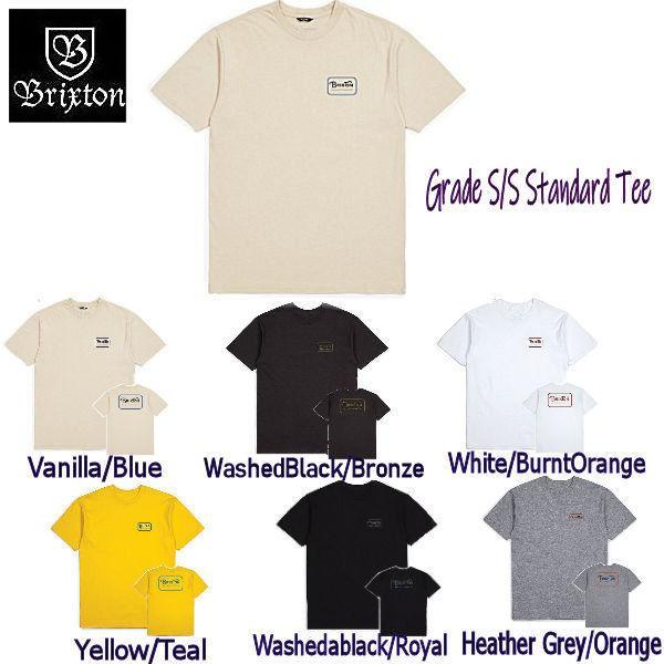 ブリクストン BRIXTON Grade S/S Standard Tee メンズ  半袖 Tシャツ シャツ スケボー 正規品|54tide