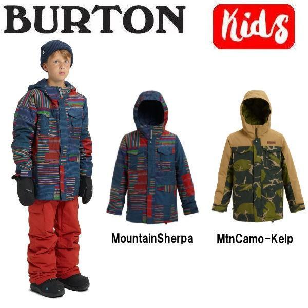 バートン BURTON キッズ 子供用 スノーウェア ジャケット アウター スノーボード BURTON JAPAN正規品 Boys Burton Covert Jacket