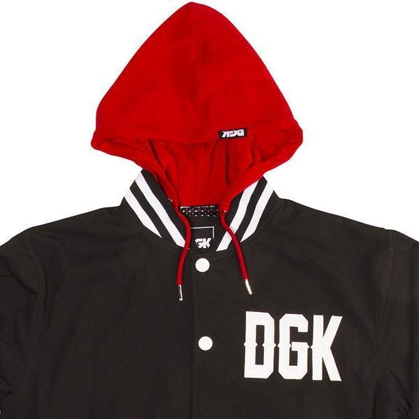 ディージーケー DGK FROM NOTHING HOODED JACKET メンズジャケット スタジャン ジャンバー|54tide|03