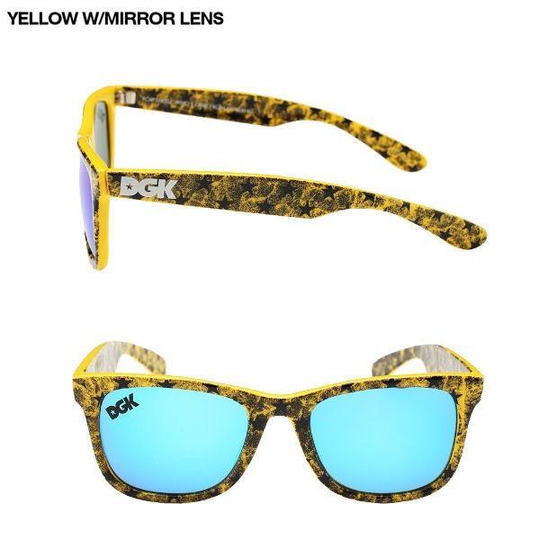 DGK ディージーケー2015春夏 CLASSIC SHADES メンズ・レディースサングラス ユニセックス 眼鏡/2カラー|54tide|03