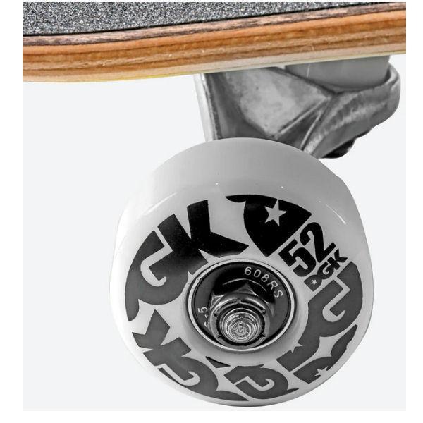 【DGK】ディージーケー DGK STK COMPLETE DECK Skateboard コンプリート  スケボー 大人 デッキ KIDS キッズ スケートボード 板 初心者 54tide 05