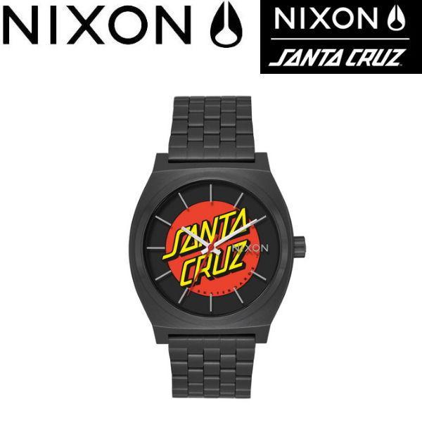ニクソン NIXON メンズ レディース ウォッチ アナログ腕時計 タイムテラー SANTA CRUZ BLACK/SANTA CRUZ THE TIME TELLER 正規品|54tide
