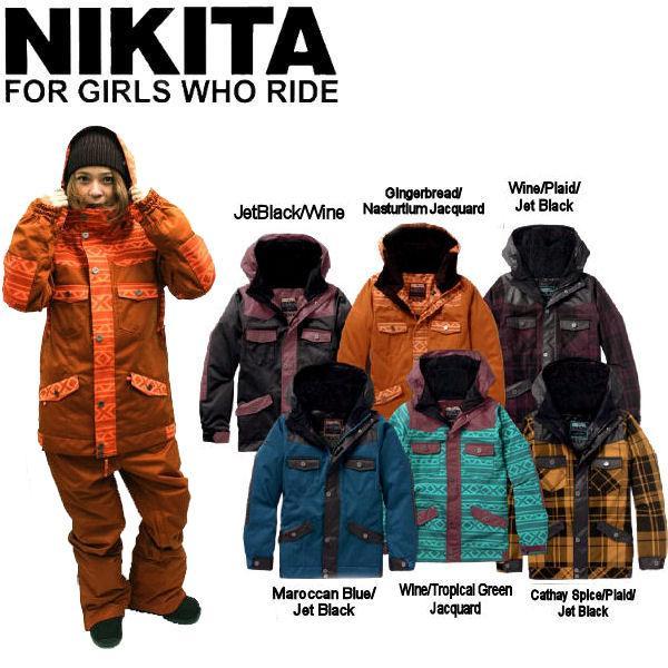 ニキータ NIKITA Mayon Jacket レディース スノージャケット 人気ブランド スノーボード  スノボー  54tide