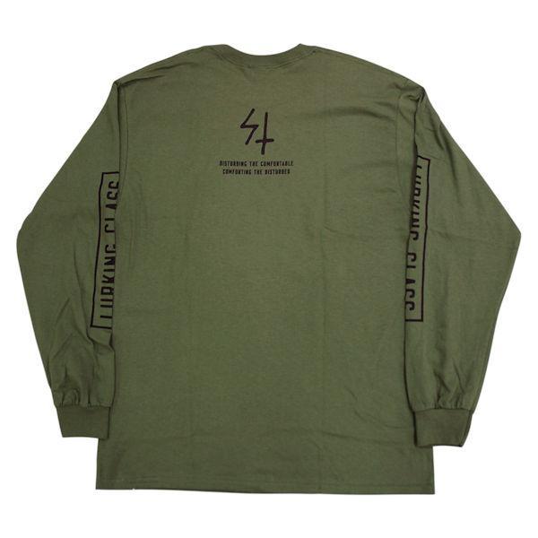スケッチータンク SKETCHY TANK LURKING CLASS COPRO L/S TEE ラーキングクラス ロンT TEE メンズ 長袖Tシャツ ティーシャツ トップス 【正規品】|54tide|06