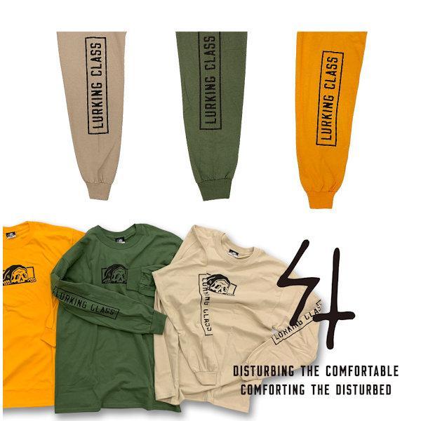 スケッチータンク SKETCHY TANK LURKING CLASS COPRO L/S TEE ラーキングクラス ロンT TEE メンズ 長袖Tシャツ ティーシャツ トップス 【正規品】|54tide|09