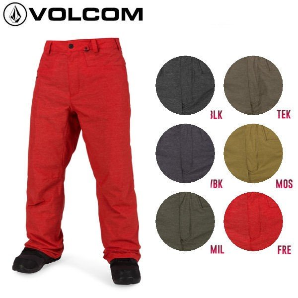 VOLCOM ボルコム CARBON PANT メンズ スノーウェア パンツ スノーボード