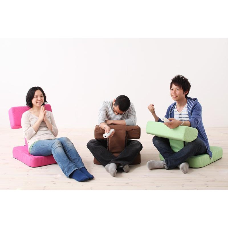 座椅子 チェア ゲーム用座椅子 多機能座椅子 スマホ用座椅子 読書用座椅子 日本製 T. ティー 1P 5stella