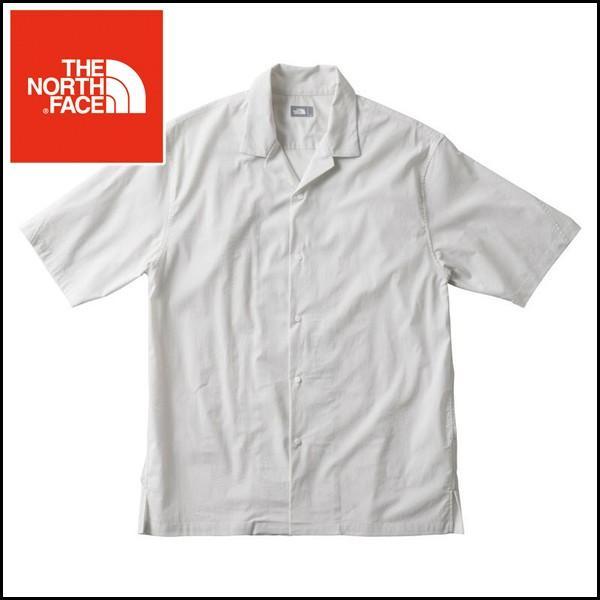 ザ ノースフェイス サイエンスオブムーブメントショートスリーブオープンシャツ メンズ THE NORTH FACE V.Grey NR21864