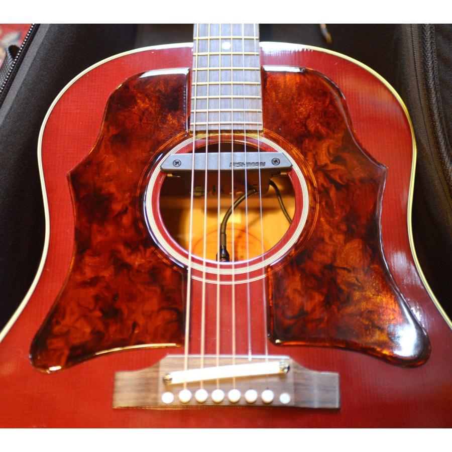 【DUAL】Gibson J-45 Double Vintage 1960年代 ギブソン ヴィンテージ 純正品を極限まで復元した ラージ ピックガード 透過性 粘着剤付属 5th 02