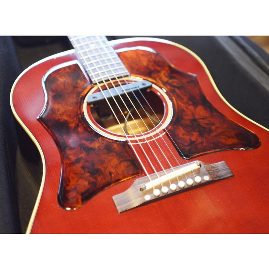 【DUAL】Gibson J-45 Double Vintage 1960年代 ギブソン ヴィンテージ 純正品を極限まで復元した ラージ ピックガード 透過性 粘着剤付属 5th 03
