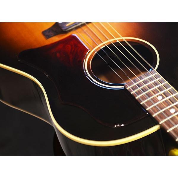 サンバースト用 Gibson Vintage 1960年代 ギブソン ヴィンテージ 純正品を極限まで復元した ラージ ピックガード 透過性 粘着剤付属|5th|03