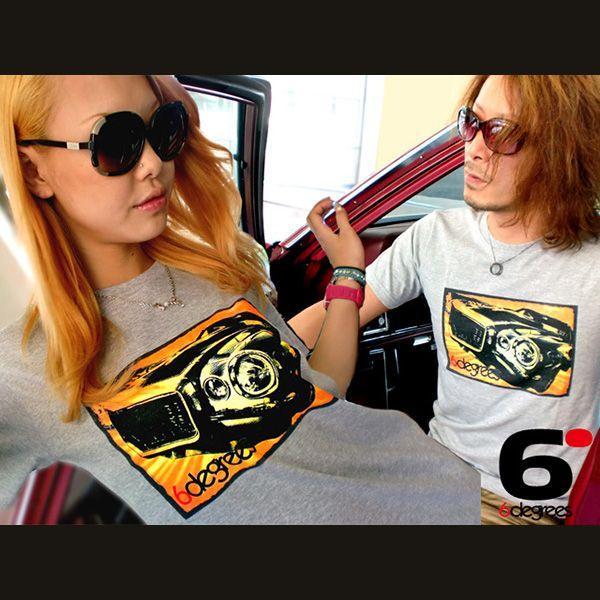 6DEGREES オリジナルTシャツ '71CAMARO・カマロ 杢グレイ/アメ車/シボレー|6degrees|02