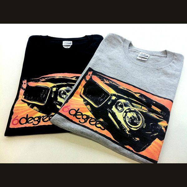 6DEGREES オリジナルTシャツ '71CAMARO・カマロ 杢グレイ/アメ車/シボレー|6degrees|04