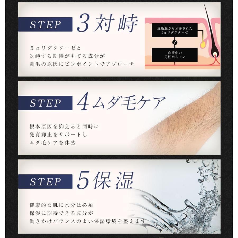 ジェントルブラックエピローション GENTLE BLACK EPI LOTION 3個セット【送料無料】メンズ 男性 スキンケア 化粧水 保湿〔mr-2068-3〕|7-palette|07