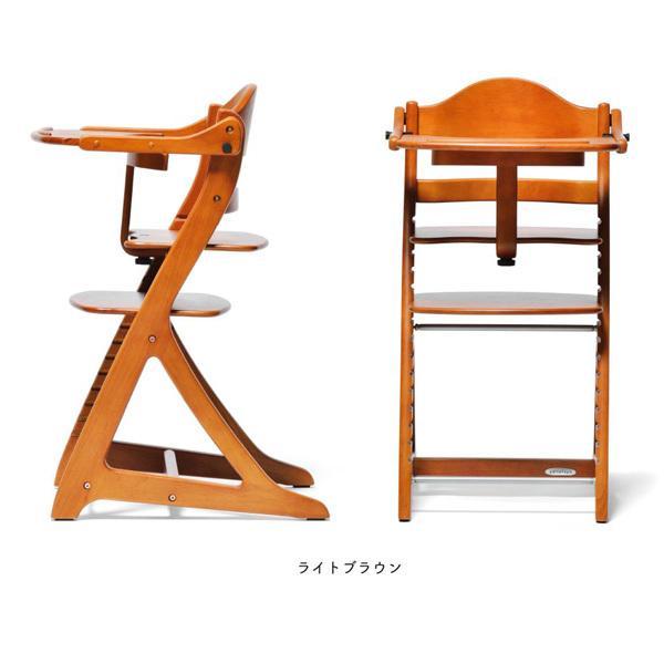 ベビーチェア ハイチェア ラック すくすくチェア スリムプラス テーブル付 大和屋 ベビーチェアー 木製 椅子 子供 ベビー キッズ 一部地域送料無料|716baby|04