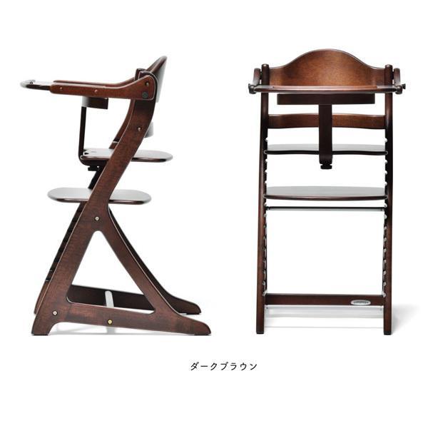 ベビーチェア ハイチェア ラック すくすくチェア スリムプラス テーブル付 大和屋 ベビーチェアー 木製 椅子 子供 ベビー キッズ 一部地域送料無料|716baby|05