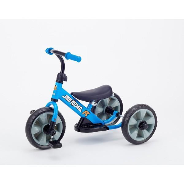 三輪車 2歳 3歳 1歳半 手押し棒付き へんしんサンライダー FC 野中製作所 子供 手押し キッズ 足けり 変身 へんしんバイク 誕生日プレゼント 乗用 乗り物 ギフト|716baby|10