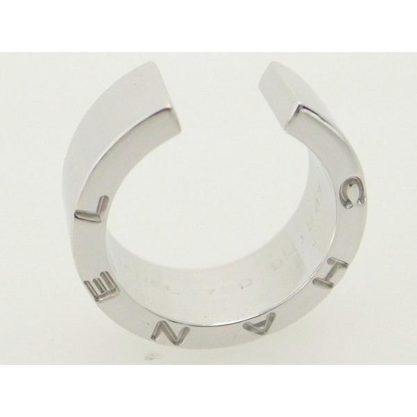 人気が高い  シャネル シグネチャリング K18WG(18金 ホワイトゴールド) 指輪 指輪 質屋出品, セキガハラチョウ:9964ea9a --- airmodconsu.dominiotemporario.com