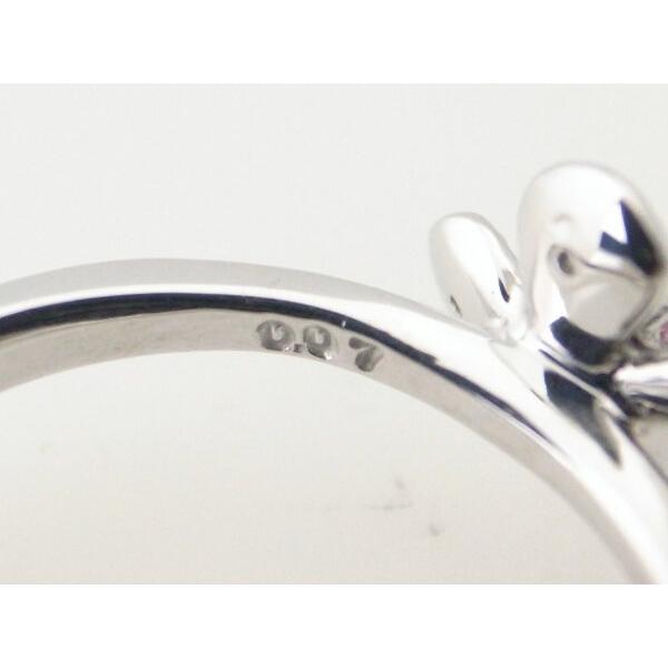 スタージュエリー ダイヤモンドリング 9号 K18WG(18金 ホワイトゴールド) 質屋出品|7saito|07