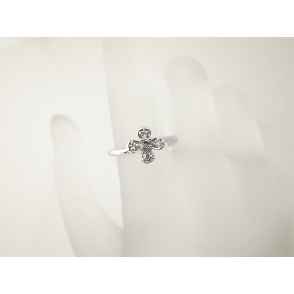 スタージュエリー ダイヤモンドリング 9号 K18WG(18金 ホワイトゴールド) 質屋出品|7saito|08