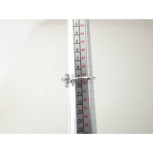 スタージュエリー ダイヤモンドリング 9号 K18WG(18金 ホワイトゴールド) 質屋出品|7saito|09
