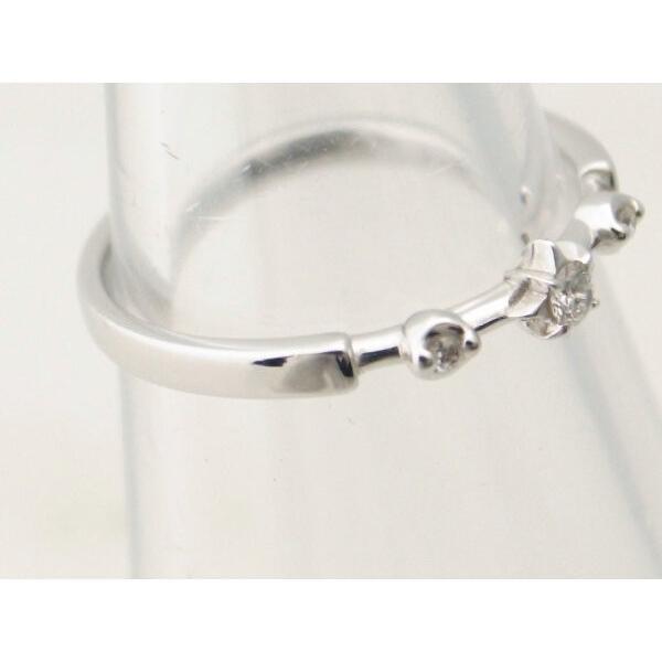 スタージュエリー ダイヤモンドリング K18WG(18金 ホワイトゴールド) 11号 指輪 星 質屋出品|7saito|03