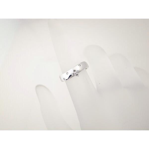 ヴァンドーム青山 ダイヤモンドリング 4号 K18WG(18金 ホワイトゴールド) 質屋出品|7saito|06