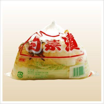 [白菜の浅漬け:格安!たっぷり1キロシンプルな味付け]白菜漬け(袋)1kg 812hosoduke 02