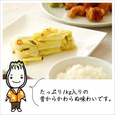 [白菜の浅漬け:格安!たっぷり1キロシンプルな味付け]白菜漬け(袋)1kg 812hosoduke 03
