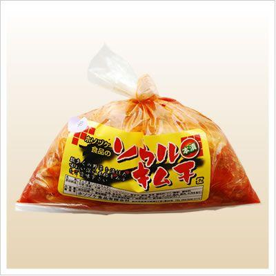 [白菜のキムチ:たっぷり大袋入り、辛さ3倍]激辛ソウル(袋) 1kg 812hosoduke 02