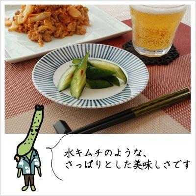[きゅうりのキムチ:あっさりサラダ感覚]きゅうりキムチ 半切 170g|812hosoduke|03