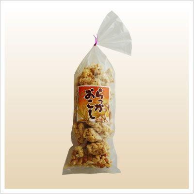 [お菓子:落花生と柿の種のおこし] らっかおこし 150g|812hosoduke|02