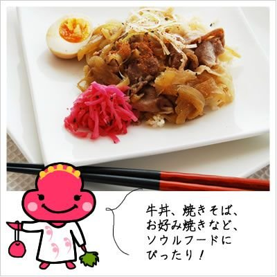 [漬物]はまちゃん生姜(紅しょうが) 70g 812hosoduke 03