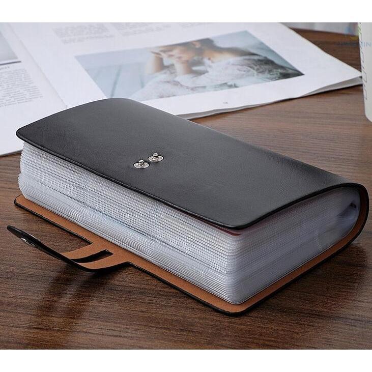 カードケース メンズ レディース 96枚収納 スキミング防止 RFID 大容量 カード収納 上質 ブラック レッド ブラウン ネイビー 男女兼用|8787-store|12