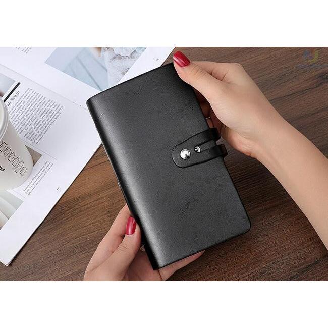 カードケース メンズ レディース 96枚収納 スキミング防止 RFID 大容量 カード収納 上質 ブラック レッド ブラウン ネイビー 男女兼用|8787-store|06