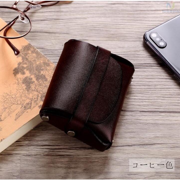 コインケース 小銭入れ メンズ レディース 本革 牛革 カード入れ カードケース コンパクト 長持ち 収納ケース|8787-store|05